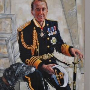 First Sea Lord Admiral Sir George Zambellas
